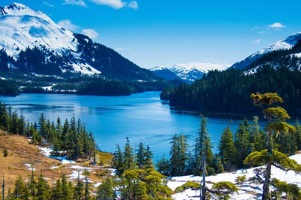 Whittier, Alaska (Photo: Troutnut/Shutterstock)