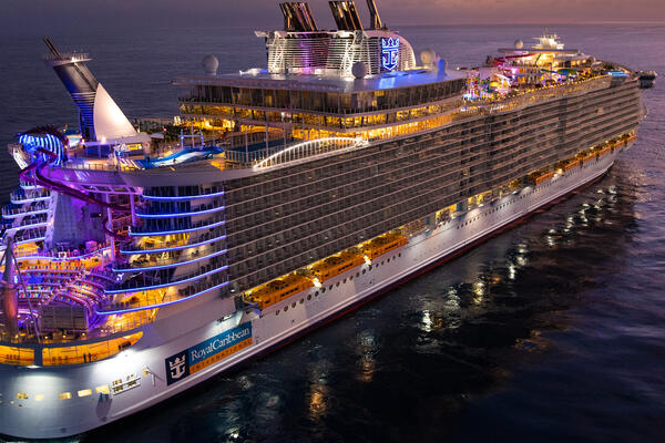 Oasis of the Seas after its $165 million Royal Amplification refurbishment in 2019. (Photo: Royal Caribbean)