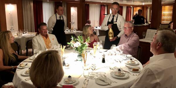 SeaDream II Wine Tasting (Photo: Chris Gray Faust/Cruise Critic)