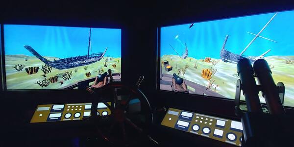 Image of Phantom Bridge escape room experience on Sky Princess