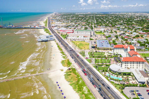 Galveston Island (Photo: Cire notrevo/Shutterstock)