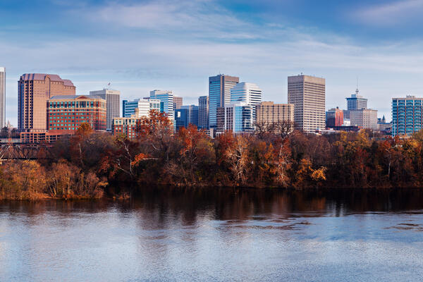 Panoramic view of Richmond, Virginia, USA (Photo: Henryk Sadura/Shutterstock)