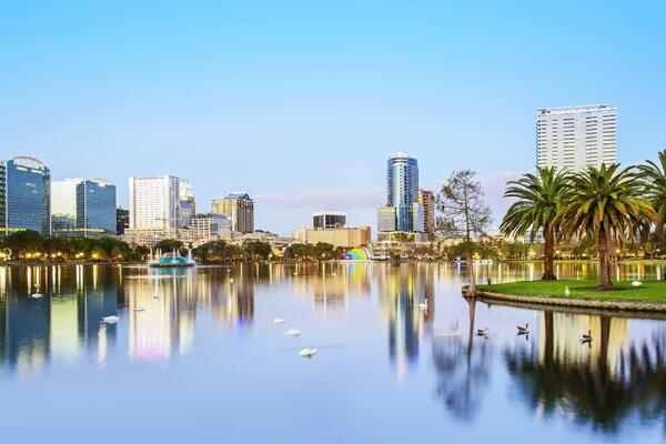 Located in Lake Eola Park, Orlando, Florida, USA (Photo: aphotostory/Shutterstock)