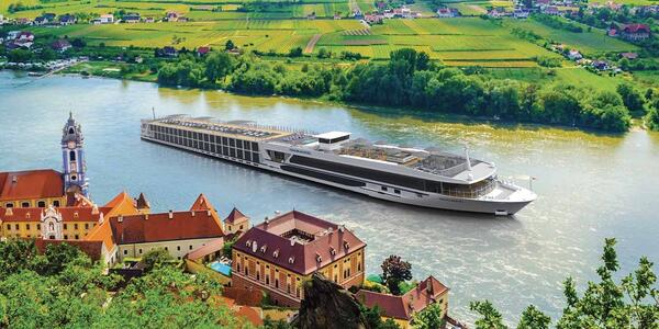 Artist rendering of Travelmarvel's new Contemporary Class river cruise vessels (Image: Travelmavel)