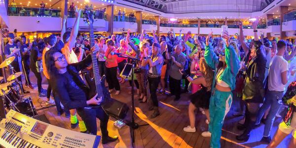 Music Manila band on Carnival Splendor (Photo: Tim Faircloth)