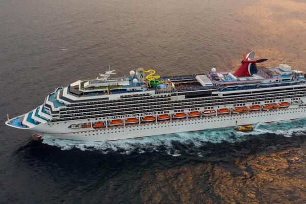 Carnival Splendor aerial view (Photo: Tim Faircloth)