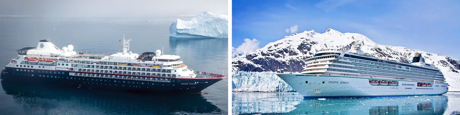 Silversea vs. Crystal Cruises (Photo: Silversea & Crystal)