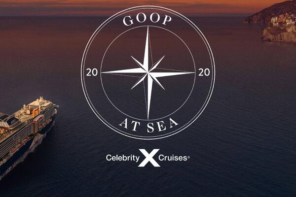 Promo imagery for Goop at Sea 2020 (Photo: Celebrity Cruises)