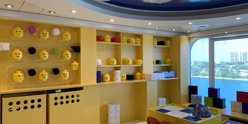 Lego-themed Kids Club on MSC Armonia