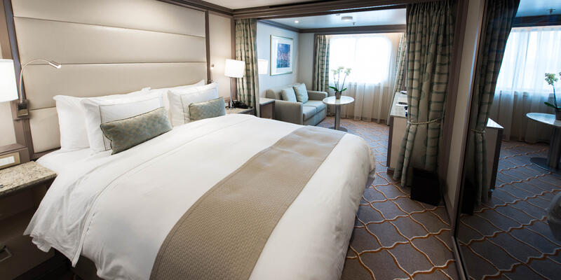 The Vista Suite on Silver Muse (Photo: Cruise Critic)
