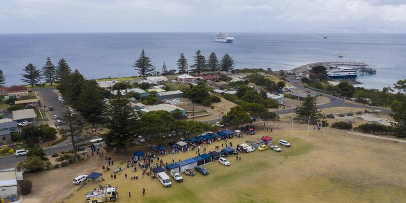Markets at Penneshaw, Kangaroo Island (Photo: Princess Cruises)