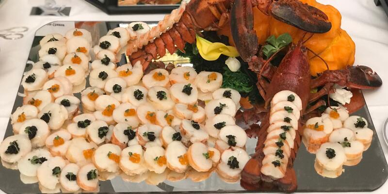 Seafood platter on Seven Seas Splendor (Photo: Kerry Spencer)