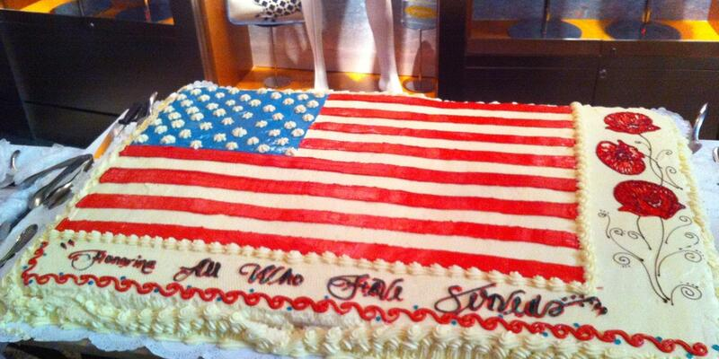 Veteran's Day event hosted on Liberty of the Seas (Photo:L Jane/Cruise Critic Member)