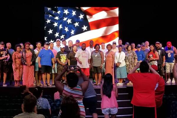 Military veterans' gathering hosted on Carnival Vista (Photo: beachys/Cruise Critic Member)