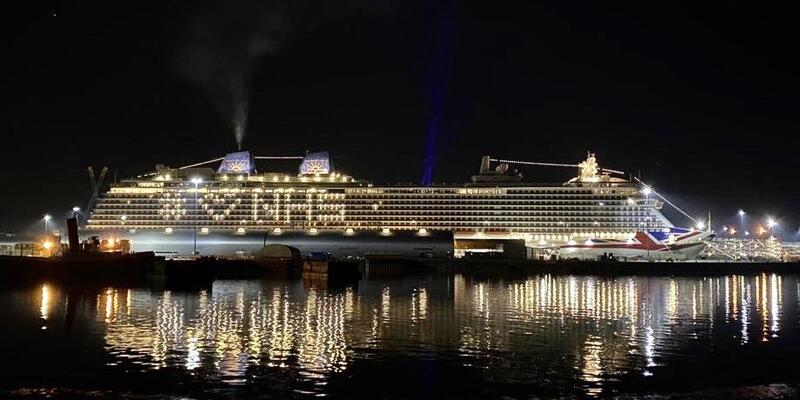 Heart NHS P&O Cruises Britannia