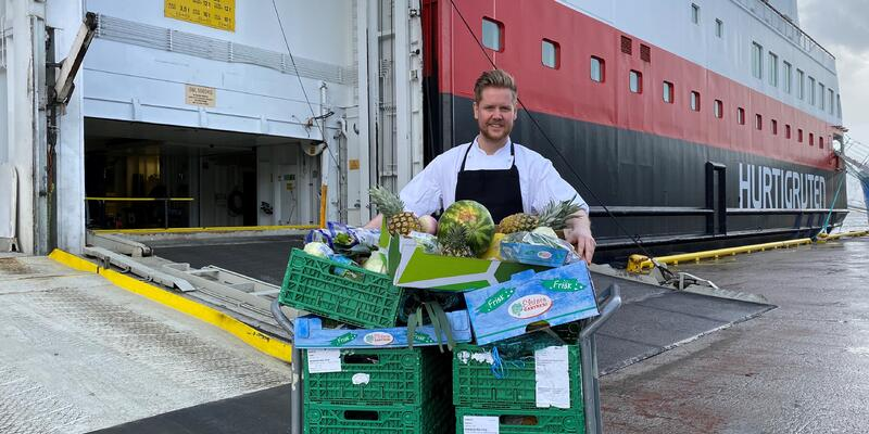 Hurtigruten Food Donation
