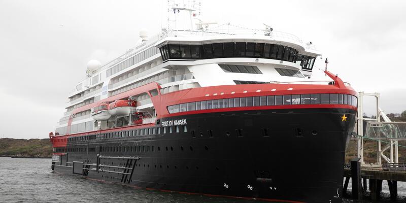 MS Fridtjof  Nansen  (Photo: Oscar Farrera/Hurtigruten)
