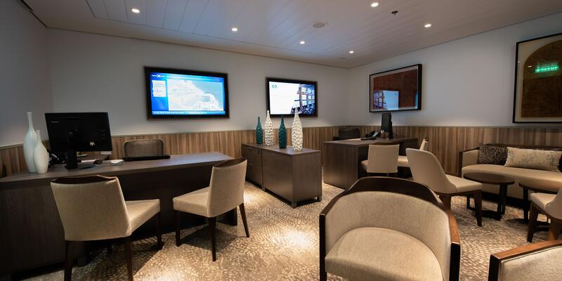 Concierge and Captain's Club on Celebrity Silhouette
