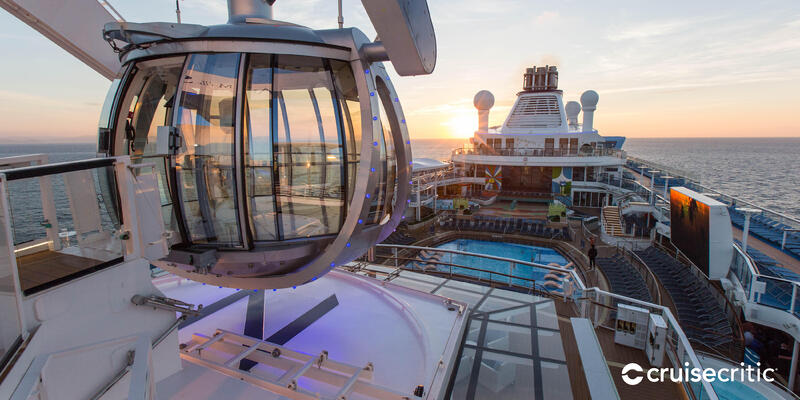 Zoom Background: The North Star on Anthem of the Seas (Photo: Cruise Critic)