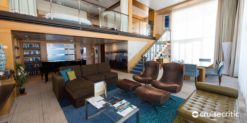 Zoom Background: The Royal Loft Suite on Harmony of the Seas (Photo: Cruise Critic)