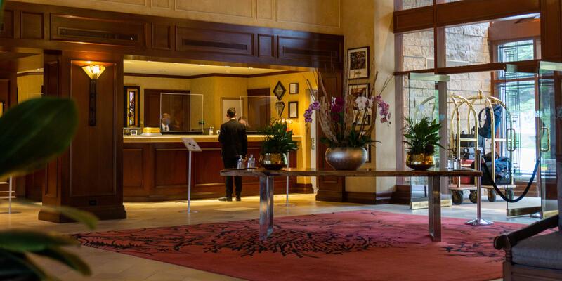 Photo of The Rimrock Resort Hotel lobby
