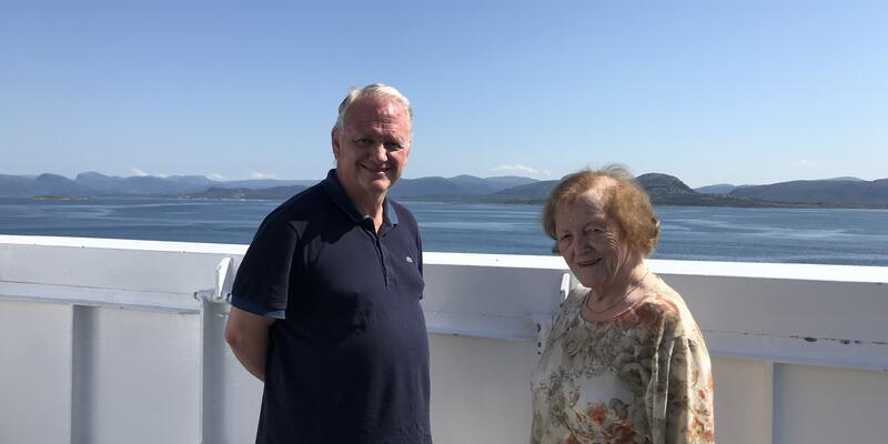 Passengers onboard MS Finnmarken