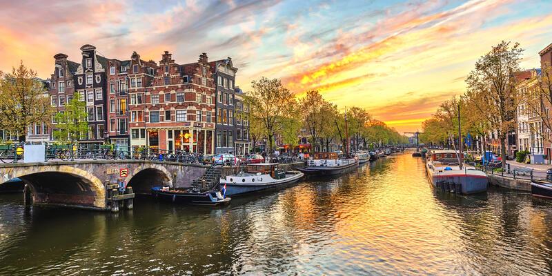 Amsterdam, Netherlands (Photo: Noppasin Wongchum/Shutterstock)