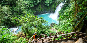 Majestic Waterfall in the Rainforest Jungle of Costa Rica (Photo: Galyna Andrushko/Shutterstock)
