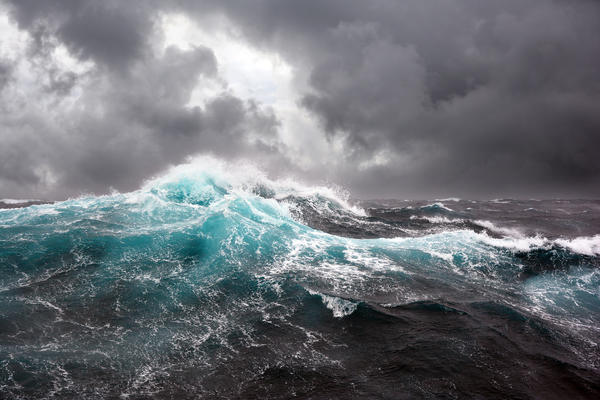 Stormy Skies & Rough Waters (Photo: andrey polivanov/Shutterstock)