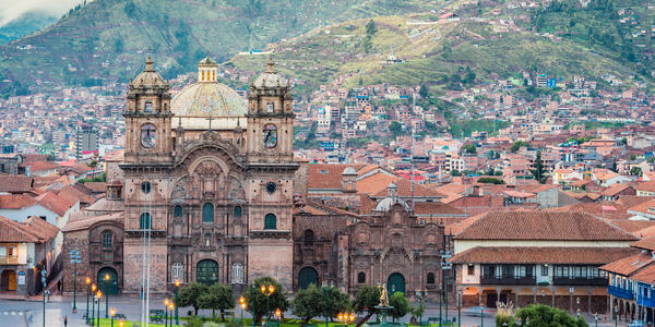 Santo Domingo, Plaza of Cusco city, Peru (Photo: sharptoyou/Shutterstock)