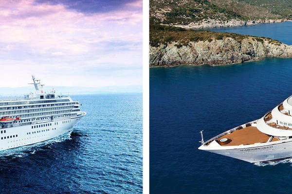 Crystal Cruises vs. Seabourn Cruise Line (Photo: Crystal & Seabourn)
