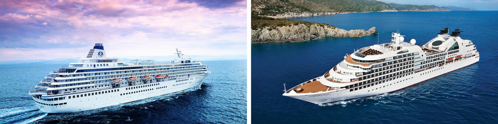Crystal Cruises vs. Seabourn Cruise Line (Photo: Crystal & Seabourn)