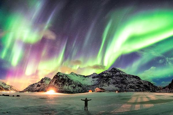 Northern Lights in Norway (Photo: Mumemories/Shutterstock)