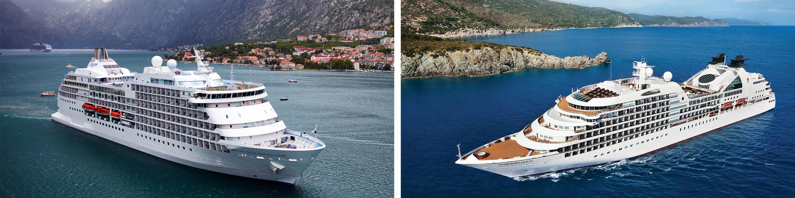 Regent Seven Seas Cruises vs. Seabourn Cruise Line (Photo: Regent & Seabourn)