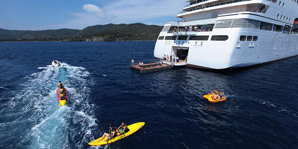 Seabourn's Watersport Platform (Photo: Seabourn)