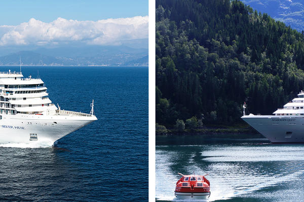 Silversea vs. Seabourn Cruise Line (Photo: Silversea & Seabourn)