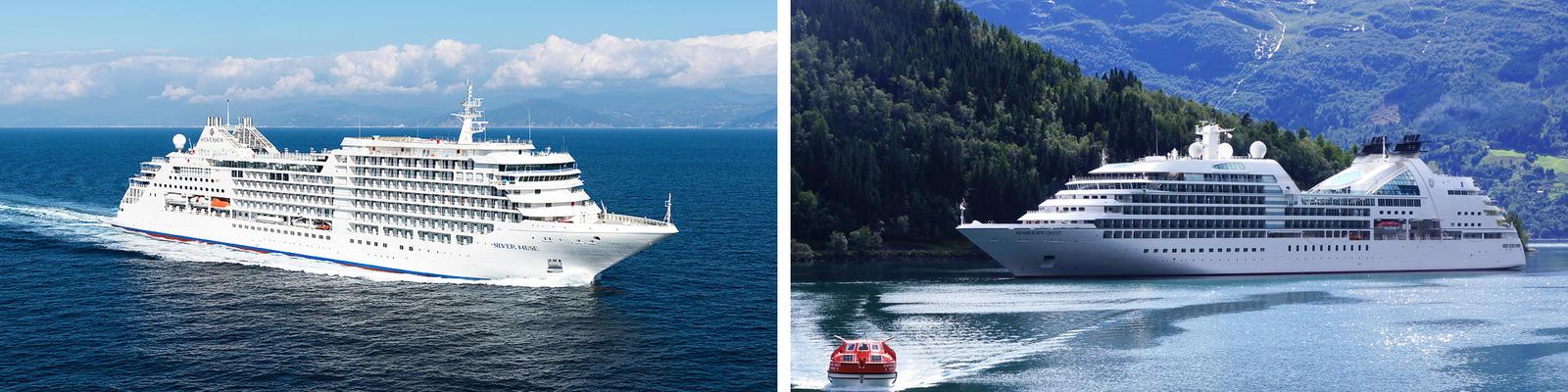 Silversea vs. Seabourn Cruise Line (Photo: Silversea & Seabourn)