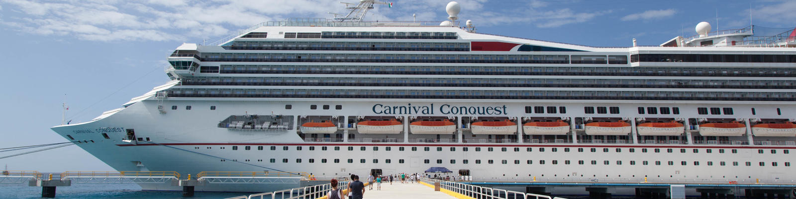 Carnival Conquest docked in Cozumel (Photo: Cruise Critic)