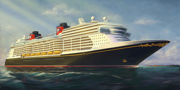 Disney Cruise Line will debut new cruise ships in 2021, 2022 and 2023