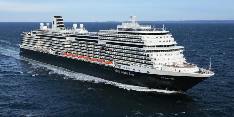 Koningsdam (Photo: Holland America)