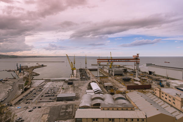 Fincantieri Shipyard (Photo: Fincantieri)