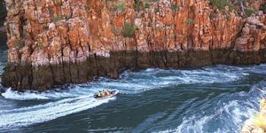 Horizontal Falls in the Kimberley