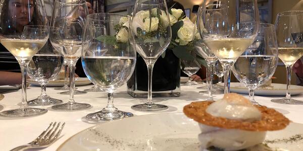 Oceania Cruises' new Dom Perignon Tasting Menu (Photo: Chris Gray Faust)