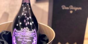Dom Perignon served on Oceania Cruises' new Dom Perignon Tasting Menu (Photo: Chris Gray Faust)