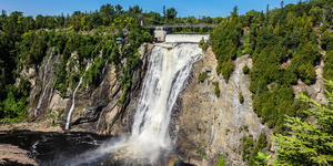 Montmorency Falls, Quebec City (Photo: Kiev.Victor/Shutterstock)