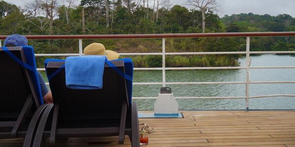 Couple on Deck (Photo: Gina Kramer)