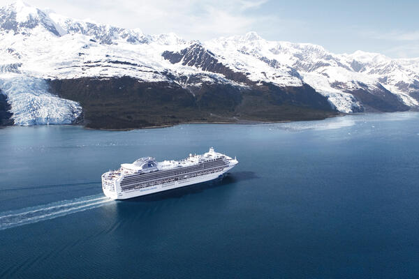 Star Princess in Alaska (Photo: Princess Cruises)