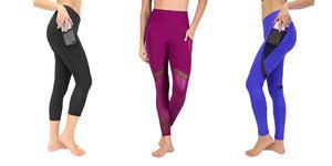 90 Degree By Reflex Women's High Waist Athletic Leggings (Photo: Amazon)