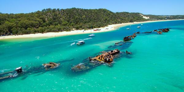 Moreton Island, Queensland, Australia (Photo: Darren Tierney/Shutterstock)