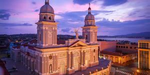 View of the Cathedral of Nuestra Senora de la Asuncion, Santiago de Cuba, Cuba (Photo: Maurizio De Mattei/Shutterstock)